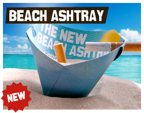 Beach Ashtray